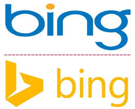 Bing Eski ve Yeni Logo