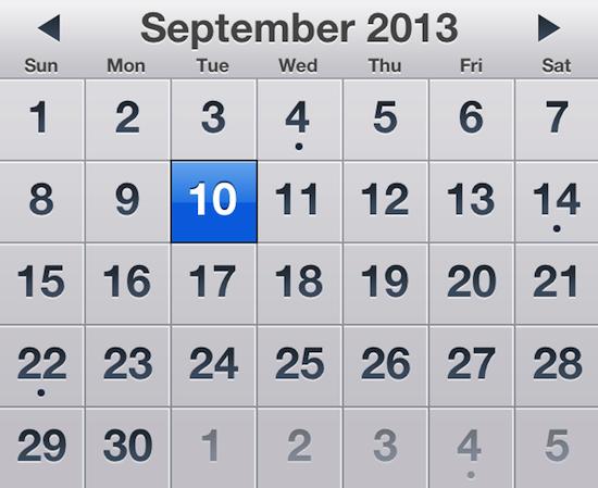Apple etkinliği 10 Eylül'de