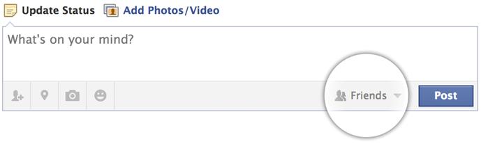 Facebook Gönderi Gizliliği
