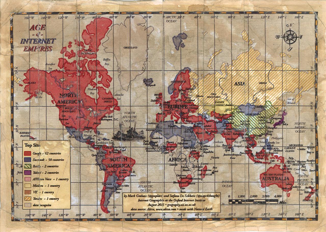 Age of Internet Empires haritası