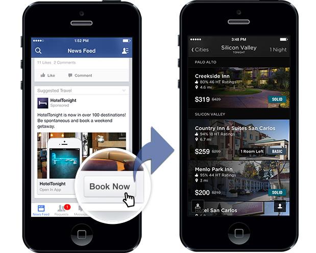 Facebook Rezervasyon Butonu