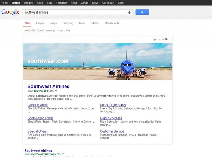 Google Arama Sonuçları Banner Reklam