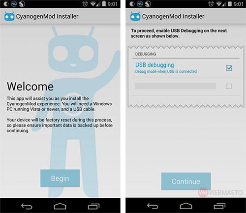 cyanogenmod-android-uygulamasi