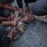 Suriye'de El Kaide bağlantılı ISIS militanları tarafından yapılan bir infaz | Fotoğraf: Emin Özmen / 31 Ağustos 2013