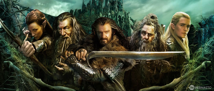 The Hobbit The Desolation of Smaug Smaug'un Çorak Toprakları