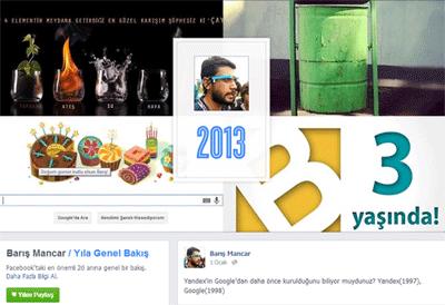 facebook 2013 özeti