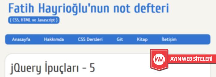 fatihhayrioglu.com