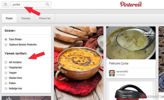 pinterest yemek tarifleri