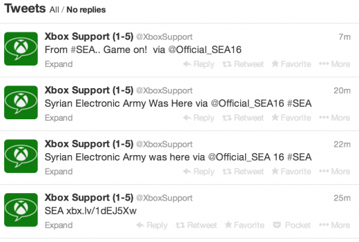 xbox support suriye elektronik ordusu