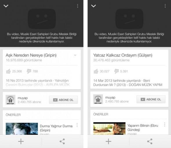youtube msg