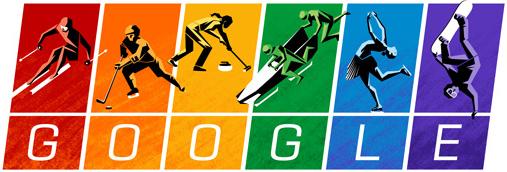 2014 Kış Olimpiyatları doodle