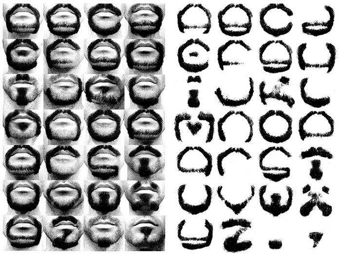 Alphabeard yazı fontu