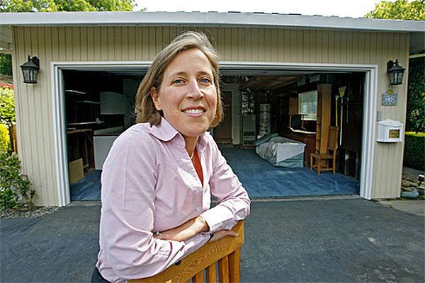 Google'ın ilk çalışmalarının yapıldığı garaj
