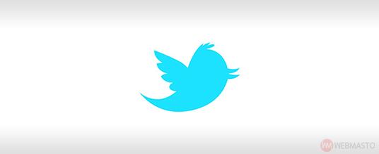 Artık mavi bir kuş simgesiyle bilinen Twitter'ın ilk kuş logosu.