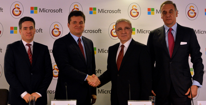 Galatasaray Microsoft Anlaşması