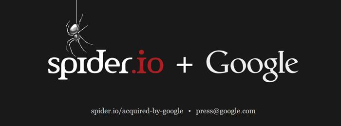 Spider.io + Google