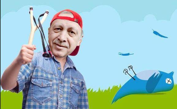 Başbakan, sapan, Twitter kuşu v2
