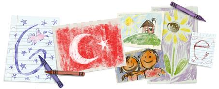 Google 23 Nisan Doodle