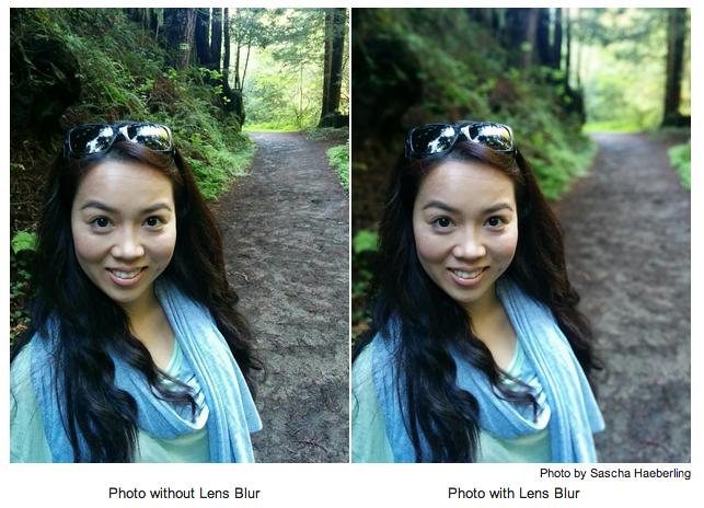 Google Kamera - Lens Blur
