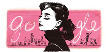Audrey Hepburn - doodle