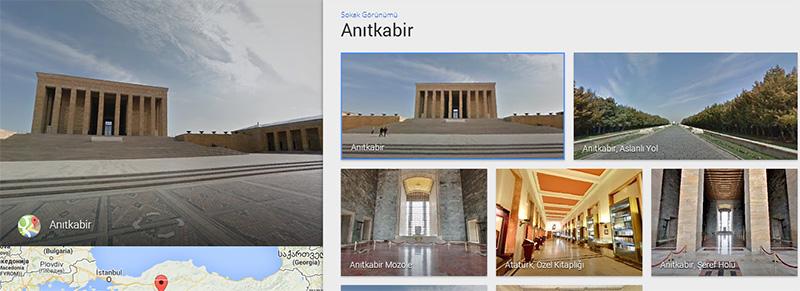 Google Street View - Anıtkabir
