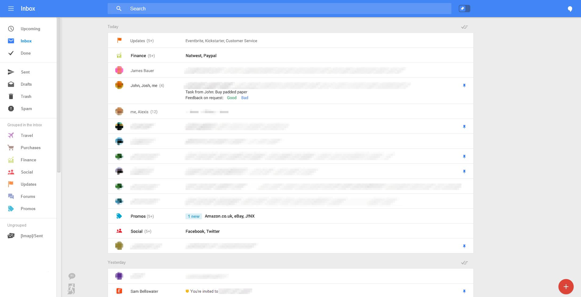 Yeni Gmail arayüz tasarımı