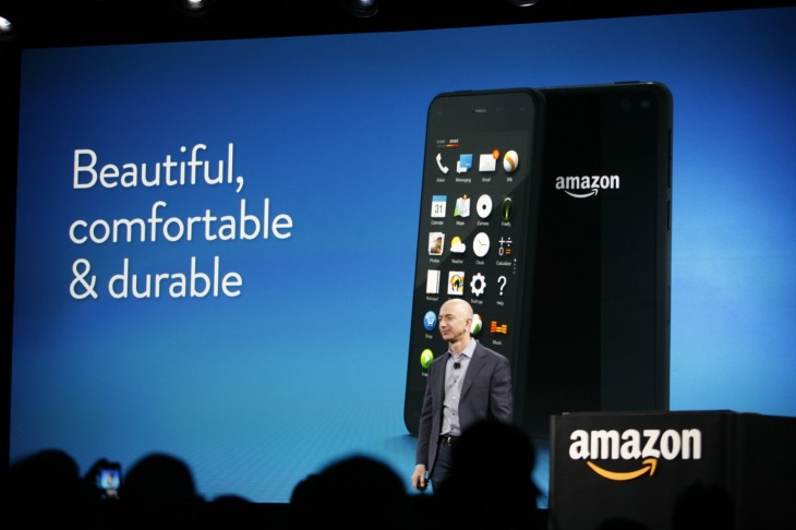 Amazon Fire Phone - Jeff Bezos