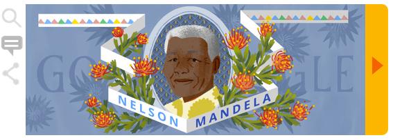 Nelson Mandela doodle