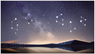 Perseid meteor yağmurları doodle