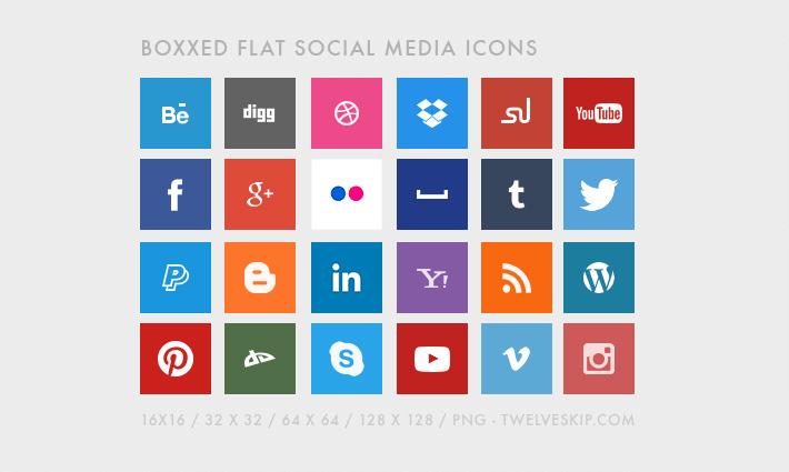 Boxxed Sosyal Medya İkonları