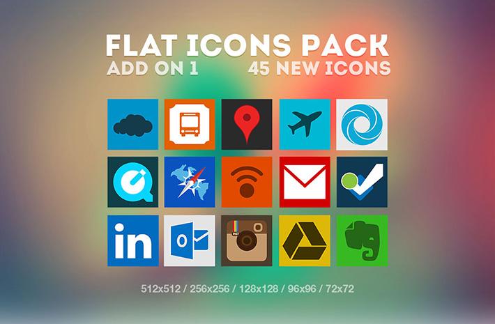 Flat İkon Paketi
