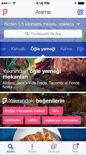 Yeni Foursquare