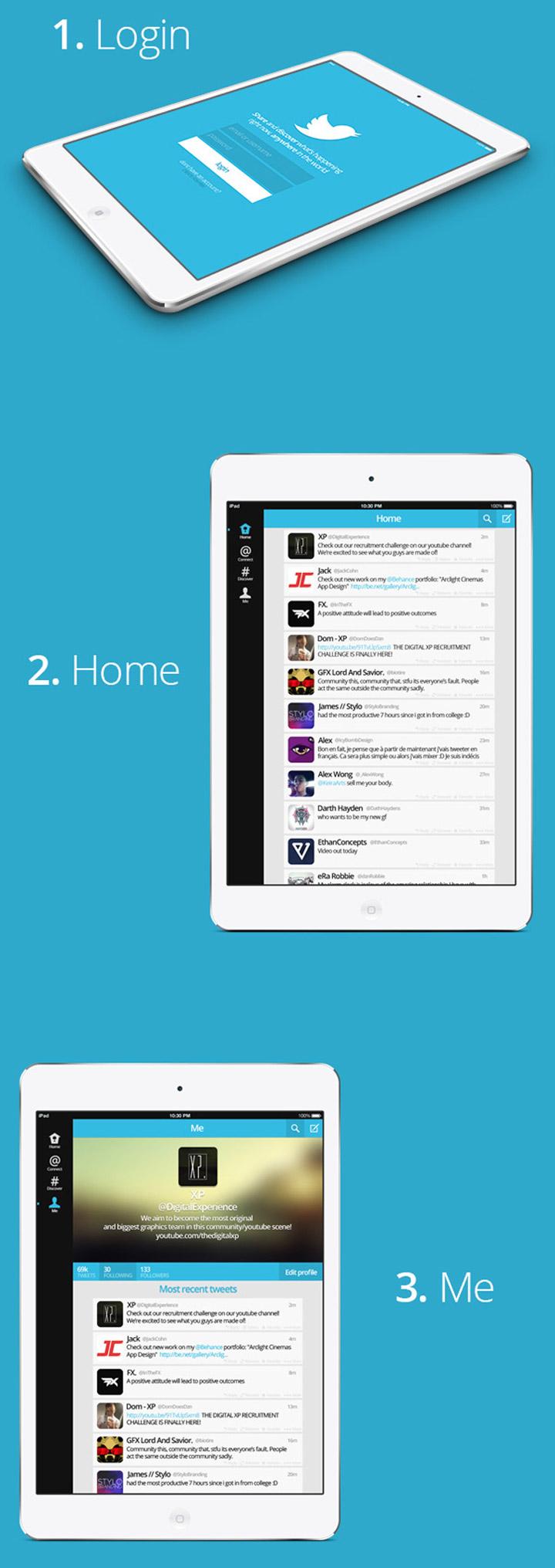 Twitter tasarım konsepti - Jack Cohn