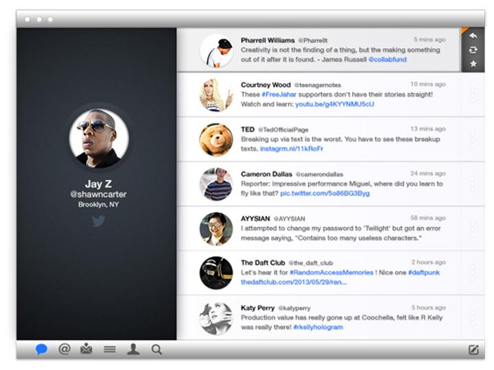 Twitter tasarım konsepti - James Littler
