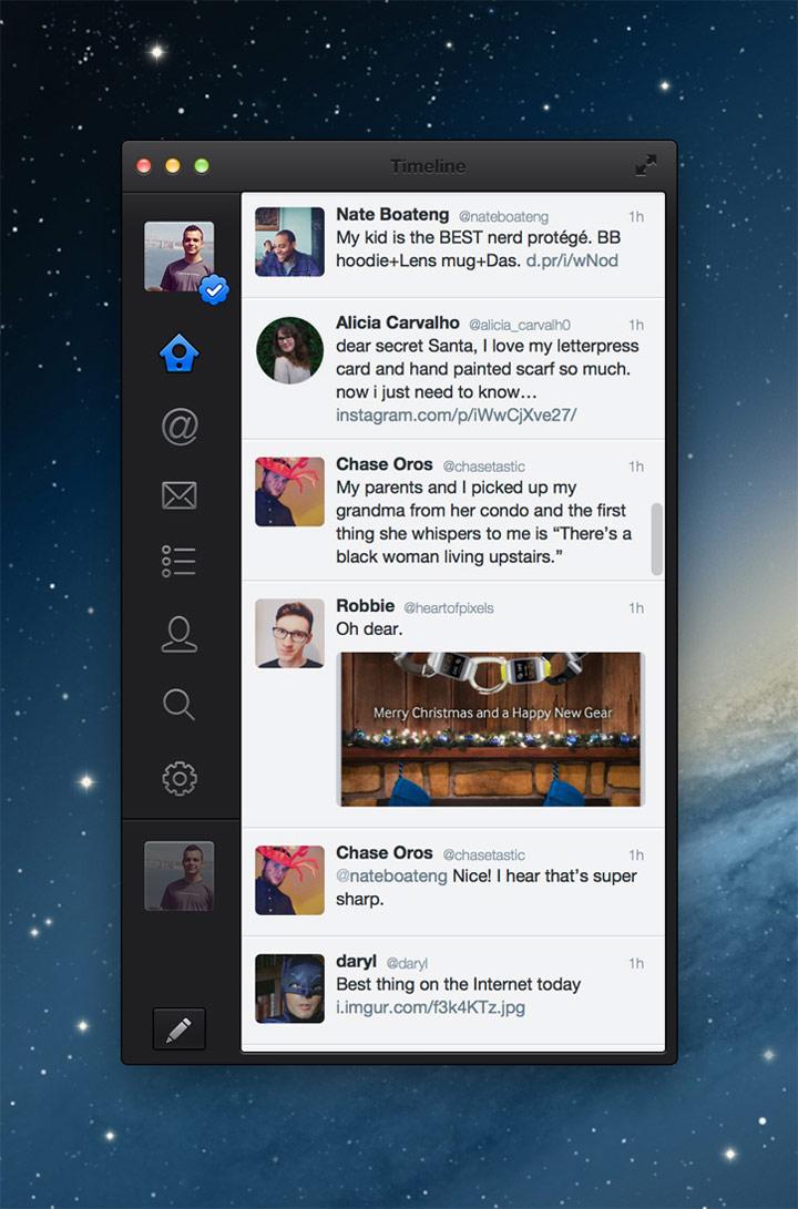 Twitter tasarım konsepti - Kubilay Sapayer