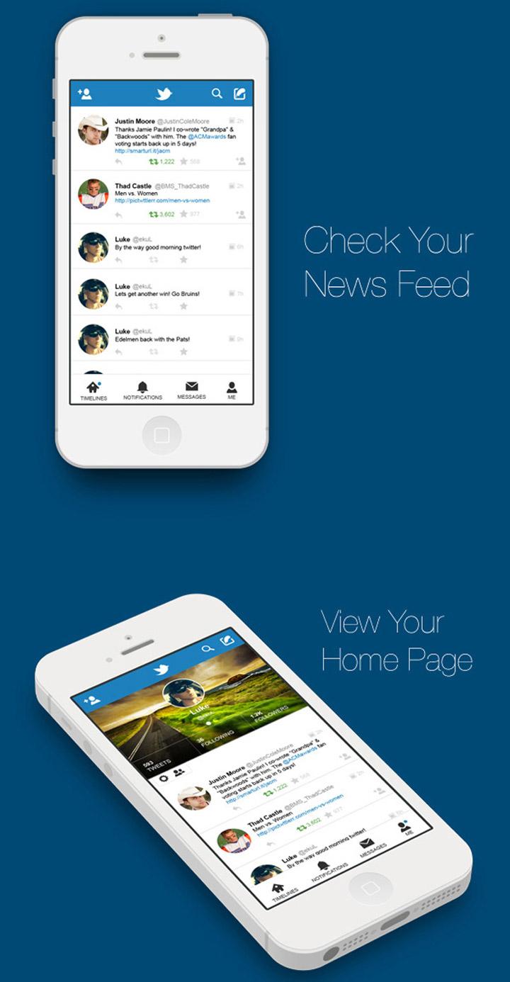 Twitter tasarım konsepti - Matt Jessell