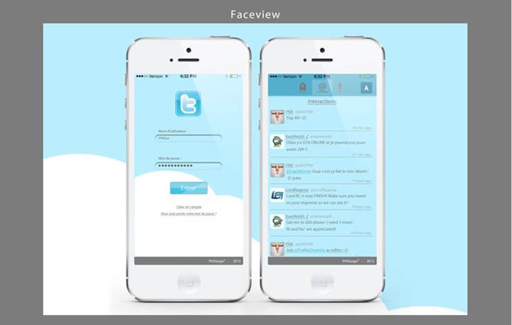 Twitter tasarım konsepti - Pierre H.
