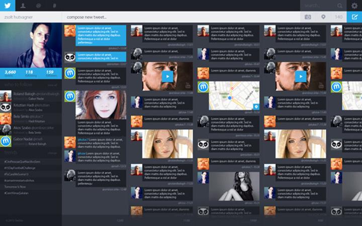 Twitter tasarım konsepti - zsolt hutvagner