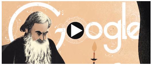 Lev Tolstoy doodle