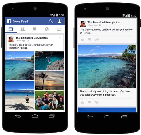 Facebook Haber Kaynağı fotoğraf kolajı