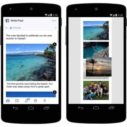 Facebook fotoğraflara açıklama ekleme ve fotoğrafları sıralama