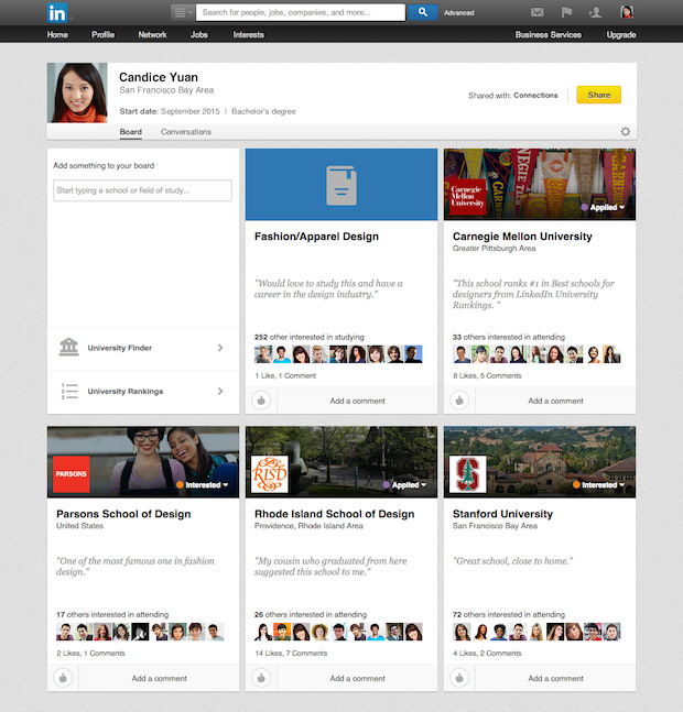 LinkedIn Karar Panoları (Decision Boards)