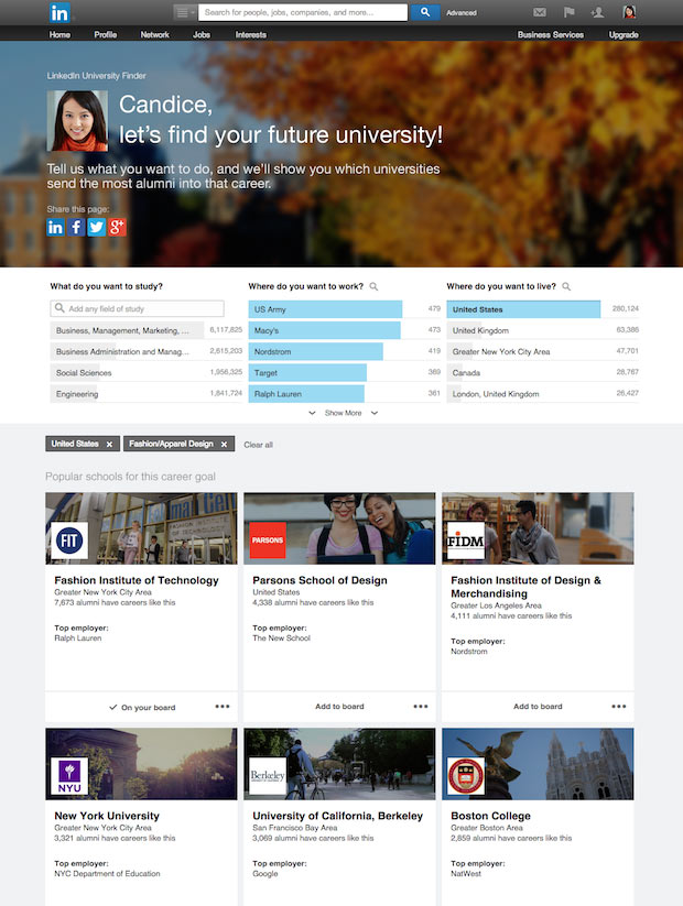 LinkedIn Üniversite Arama (University Finder)