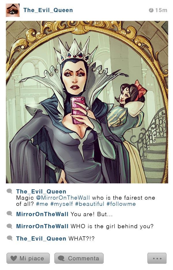 Kötülükler Kraliçesi - Instagram