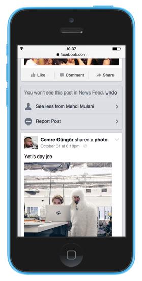 Facebook Haber Kaynağı ayarları