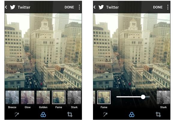 Twitter filtreleri