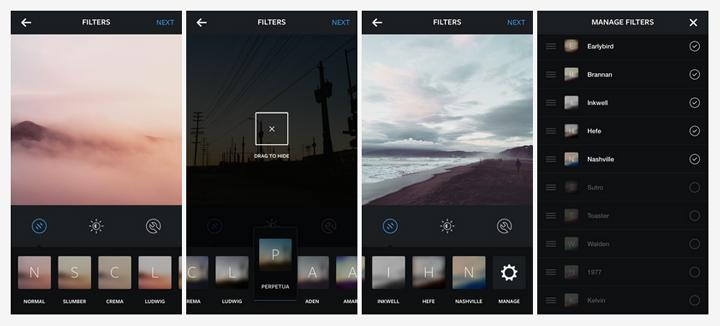 Instagram filtre yonetimi