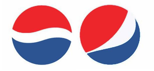Pepsi eski vs yeni logo