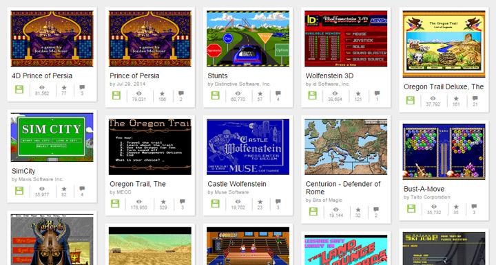 Internet Archive - MS-DOS Oyunları