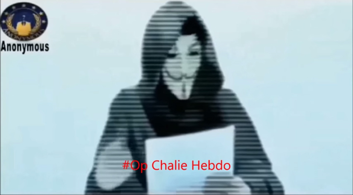 Anonymous Charlie Hebdo